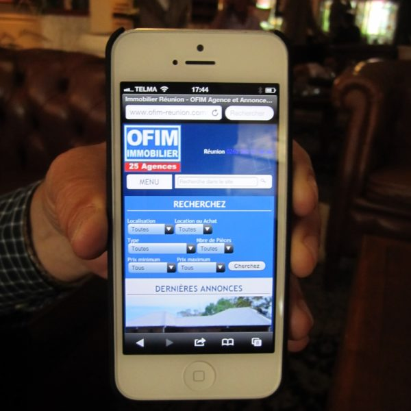 News!!! OFIM Maurice disponible sur iPhone et iPad