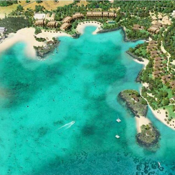 Investir dans l'acquisition d'un luxueux penthouse en RES dans une résidence hôtelière 5 étoiles à Grand Gaube ile Maurice