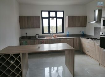 Appartements F4 neufs, Mont Choisy