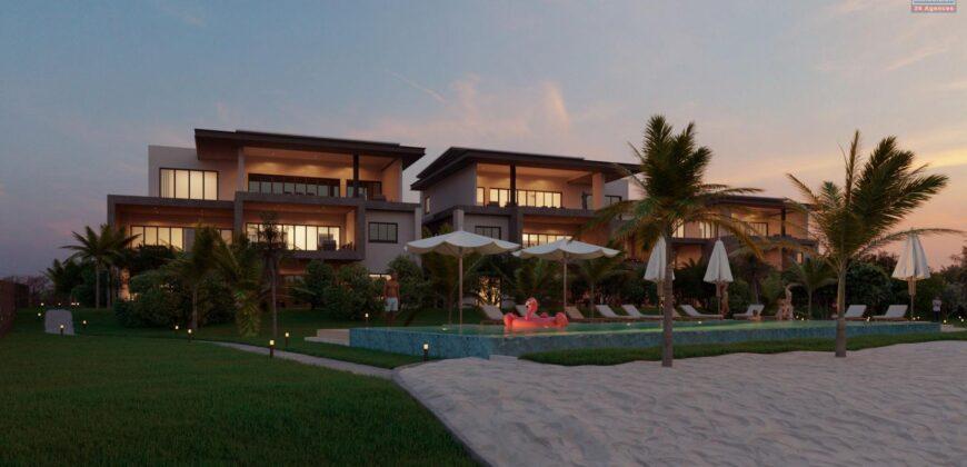 Appartements avec piscine accessible aux étrangers, Pereybère