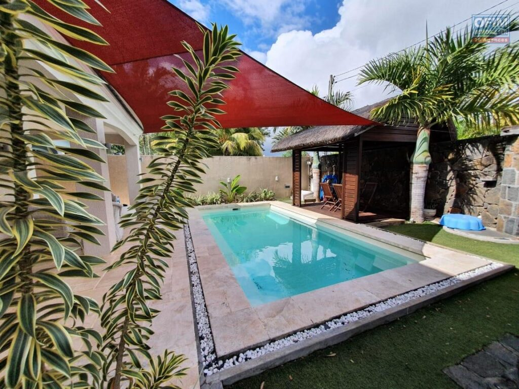 Villa individuelle à étage avec piscine, Grand Baie